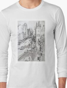 St Pauls Cathedral, Melbourne Long Sleeve T-Shirt