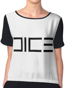 DICE Women's Chiffon Top