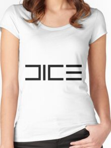 DICE Women's Fitted Scoop T-Shirt