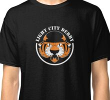 Light City Derby logo - black background Classic T-Shirt