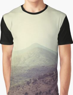 Mountains in the background III Graphic T-Shirt