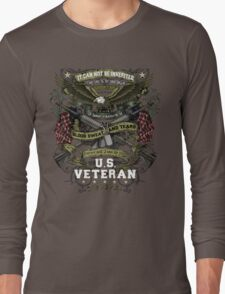 United States Veteran Long Sleeve T-Shirt