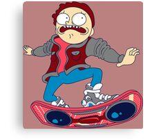 morty skate Canvas Print