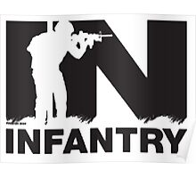 Army Infantry Poster