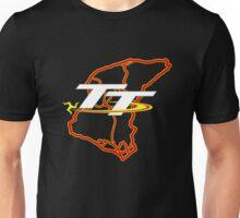 Isle of man tt mountain course map Unisex T-Shirt