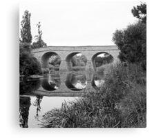 Summer, Richmond Bridge—Tasmania Canvas Print