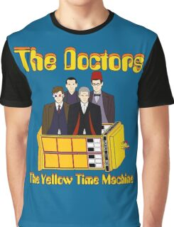The Yellow Time Machine (Plain Background) Graphic T-Shirt