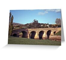 Spring, Richmond Bridge—Kodachrome 64 Greeting Card
