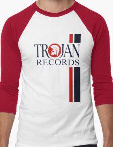 Trojan Records  Men's Baseball ¾ T-Shirt