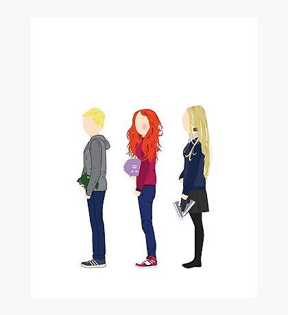 Neville Longbottom, Ginny Weasley and Luna Lovegood Photographic Print