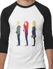 Neville Longbottom, Ginny Weasley and Luna Lovegood Men's Baseball ¾ T-Shirt