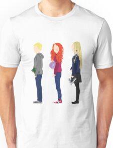 Neville Longbottom, Ginny Weasley and Luna Lovegood Unisex T-Shirt