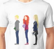 Neville Longbottom, Ginny Weasley and Luna Lovegood Unisex T-Shirt