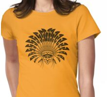 American Indian Chief Womens Fitted T-Shirt