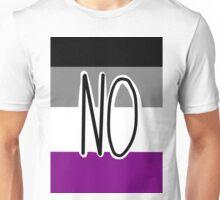 Ace Flag -- NO Unisex T-Shirt