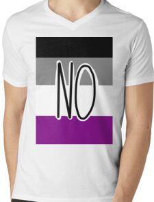 Ace Flag -- NO Mens V-Neck T-Shirt