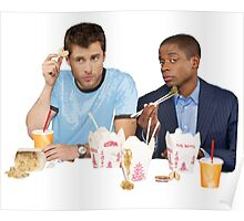 Shawn & Gus + Chinese Food Poster
