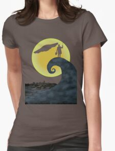 The Doctor's Nightmare Before Christmas Womens Fitted T-Shirt