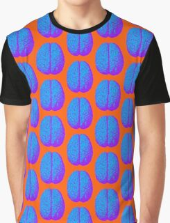 Psychedelic Brain Graphic T-Shirt