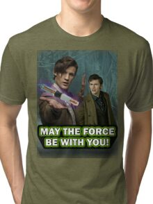 Use the Force, Doctor Jedi (Realistic) Tri-blend T-Shirt