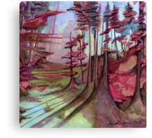 Cherry Wood Canvas Print