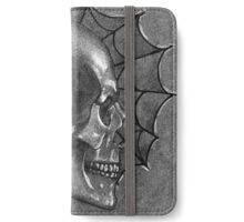 Black White and Grey Anatomy Tattoo Design and Illustration iPhone Wallet/Case/Skin