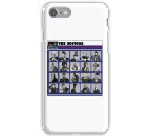 A Wibbly-Wobbly Timey-Wimey Day's Night iPhone Case/Skin