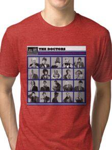 A Wibbly-Wobbly Timey-Wimey Day's Night Tri-blend T-Shirt