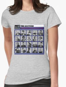 A Wibbly-Wobbly Timey-Wimey Day's Night Womens Fitted T-Shirt