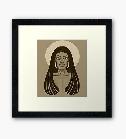 Miss Naomi Smalls Framed Print
