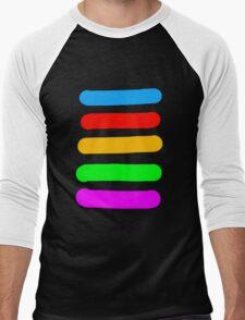 Graffiti Colours Men's Baseball ¾ T-Shirt