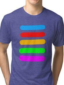 Graffiti Colours Tri-blend T-Shirt