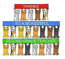 Thanks to 2nd Grade Teacher by KateTaylor