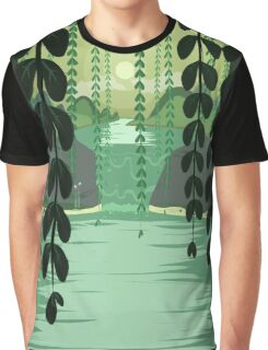 Misty Marsh Graphic T-Shirt