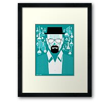 Walt - Breaking Bad Framed Print