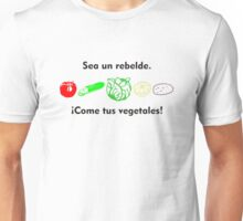 Vegetales Rebelde Unisex T-Shirt