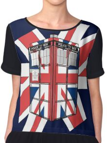 Type UK TARDIS Chiffon Top