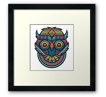 Retro Owl Framed Print
