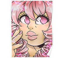 Rose Quartz Portrait Poster