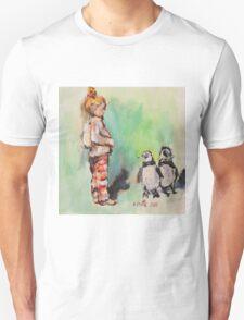 Penguin princess Unisex T-Shirt