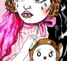 Mel illustration Sticker