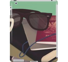 Travellers Side Table iPad Case/Skin