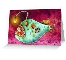 Daruma Travels Greeting Card