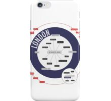 City Infographic / London iPhone Case/Skin