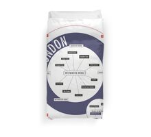 City Infographic / London Duvet Cover