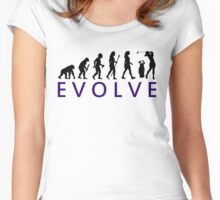 Women's Golf Evolution Women's Fitted Scoop T-Shirt