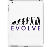Women's Golf Evolution iPad Case/Skin