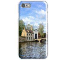Beguinage (Begijnhof), Bruges iPhone Case/Skin