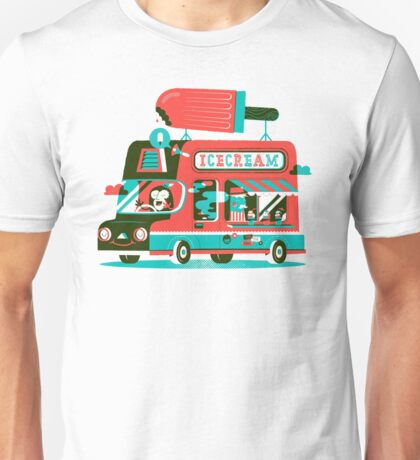 Ice-cream Truck Unisex T-Shirt