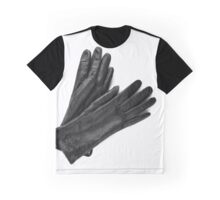 Womens leather black gloves  Graphic T-Shirt